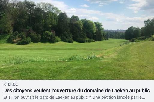 On parle de la « Ferme urbaine de Laeken »